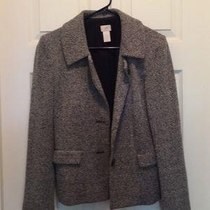 Black / Grey Tweed jacket or blazer